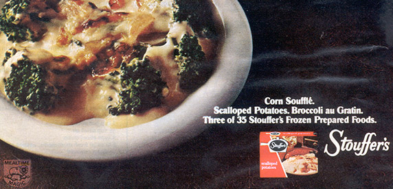 Stouffer's advertisement